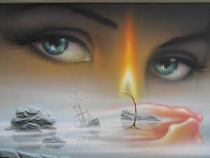 Душу можно увидеть через глаза